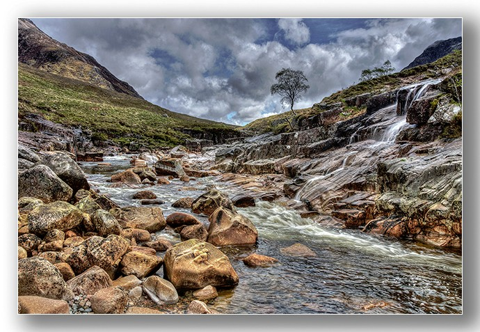 River Etive warerfalls - Highlands & Islands