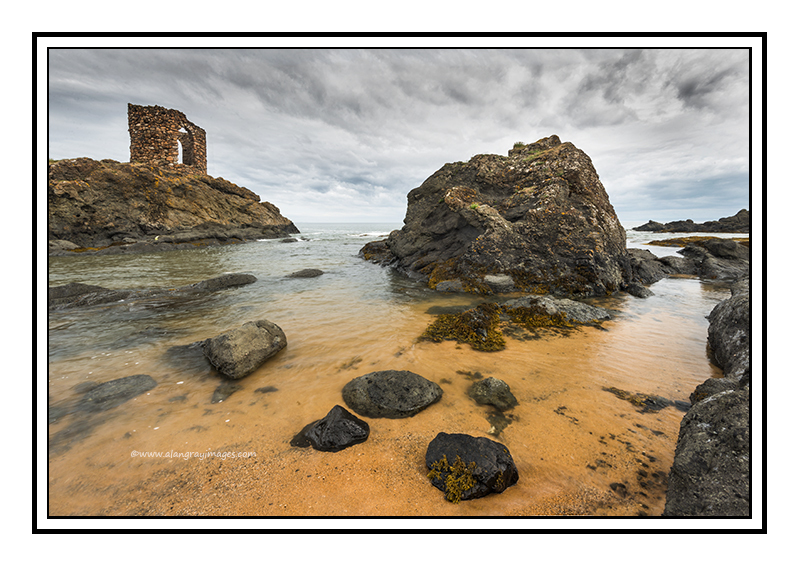The Ladys tower, Ruby Bay, Elie 02 - Fife