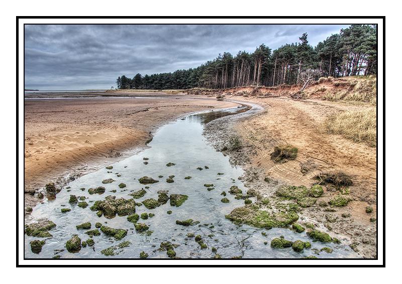 Hedderwick Burn, Belhaven Bay, Dunbar. - Edinburgh & the lothians.