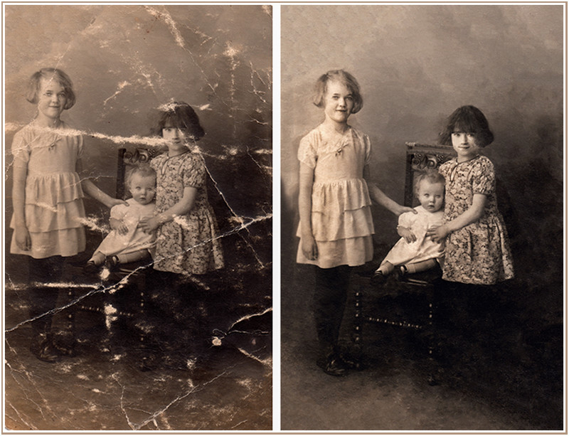 - Photographic restoration