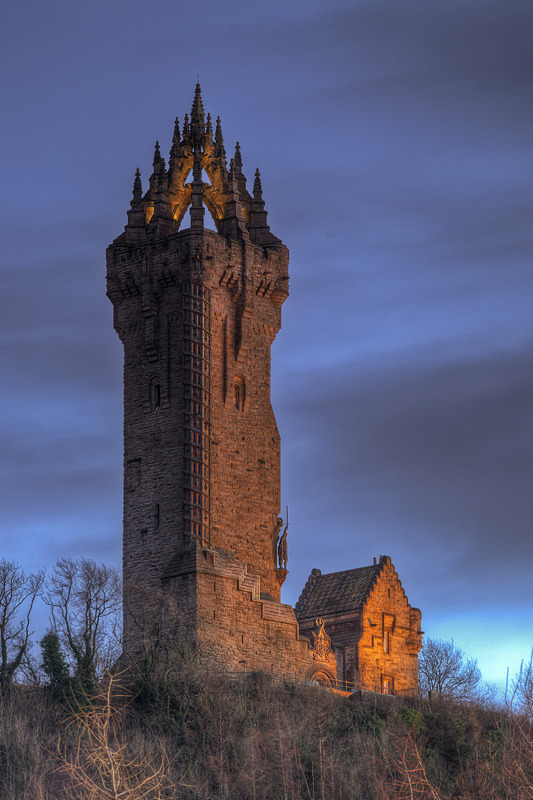 The Wallace National Monument - Clackmannan & Stirlingshire