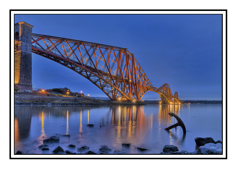 Morning light on the Forth Rail Bridge - Fife
