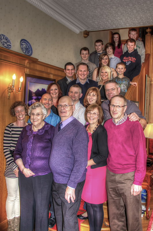 Family Gathering - Commissioned Shoots