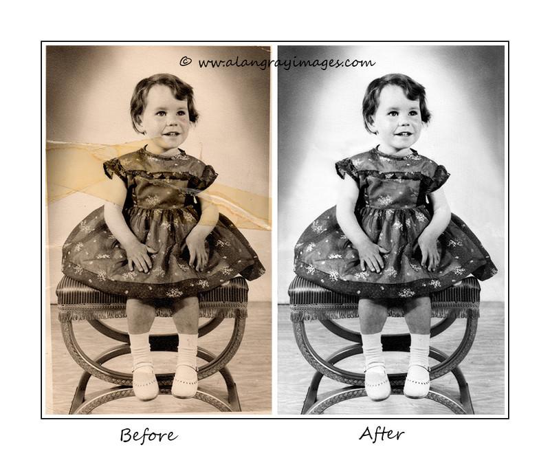 Joan 1963 - Photographic restoration