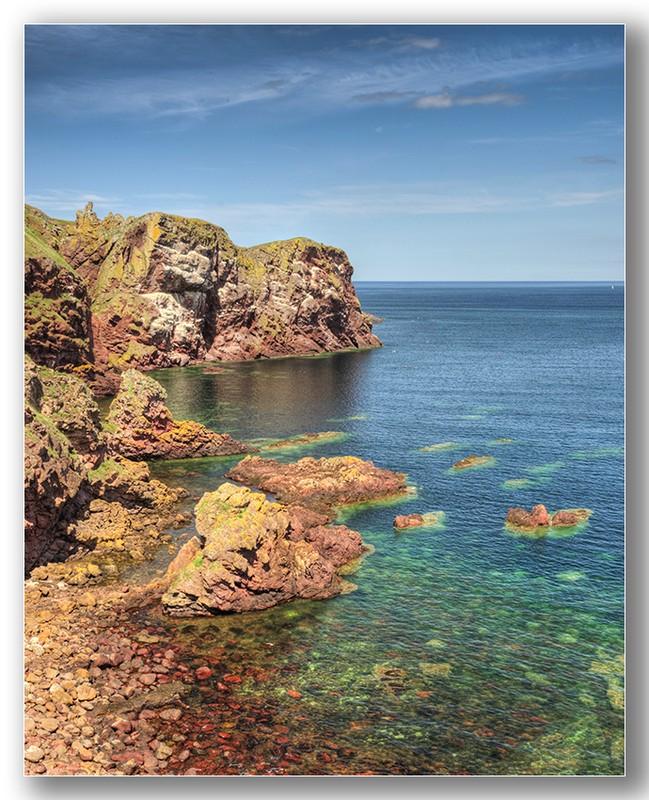 St Abbs cliffs - Edinburgh & the lothians.