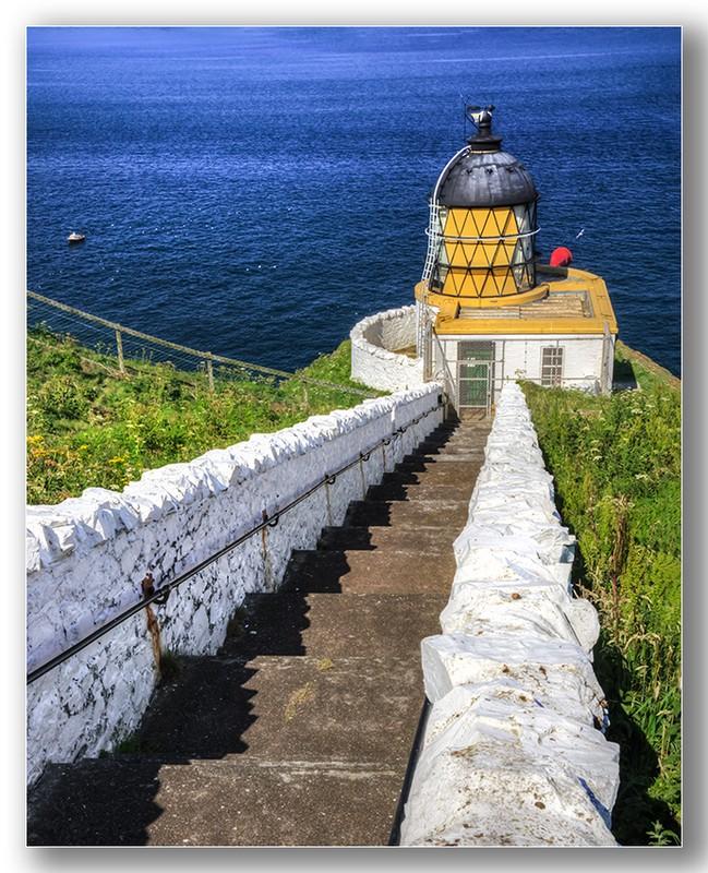 St Abbs head lighthouse - Edinburgh & the lothians.