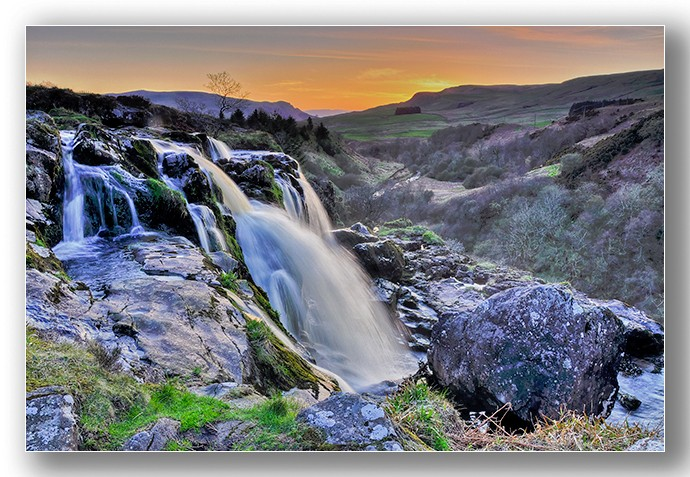 Loup of fintry sunset - Clackmannan & Stirlingshire
