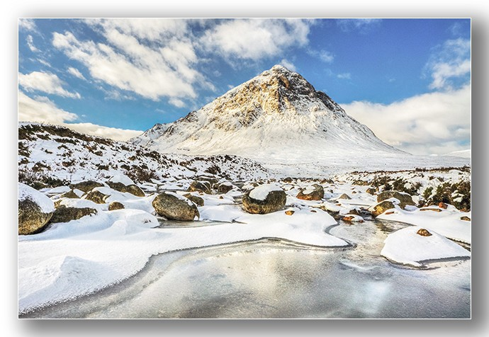 Buachaille Etive Mor winter - Highlands & Islands