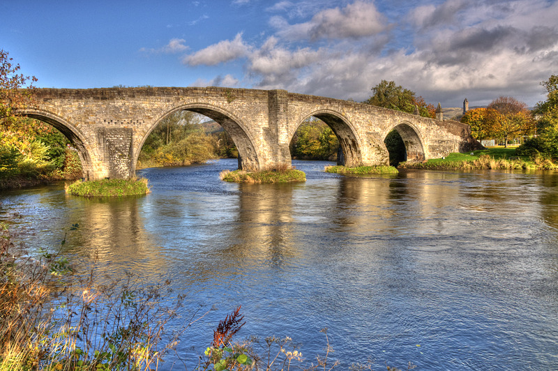 Stirling old bridge 02 - Clackmannan & Stirlingshire