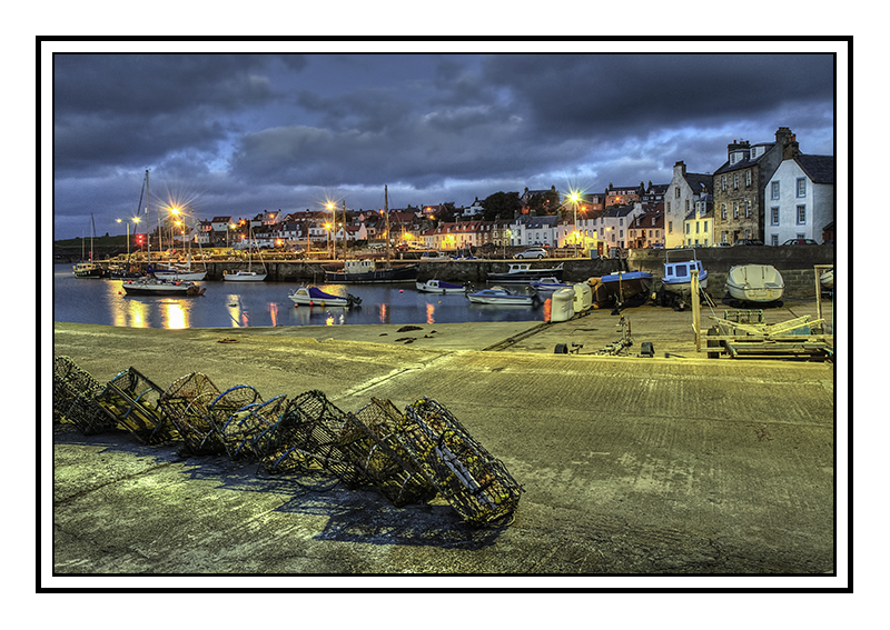 St Monans Harbour at dawn - Fife