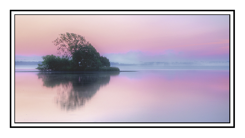 Misty sunrise loch leven - Perth & KInross