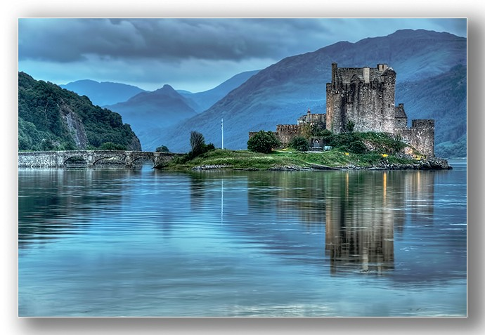 Evening Mist Eileen Donnan Castle - Highlands & Islands