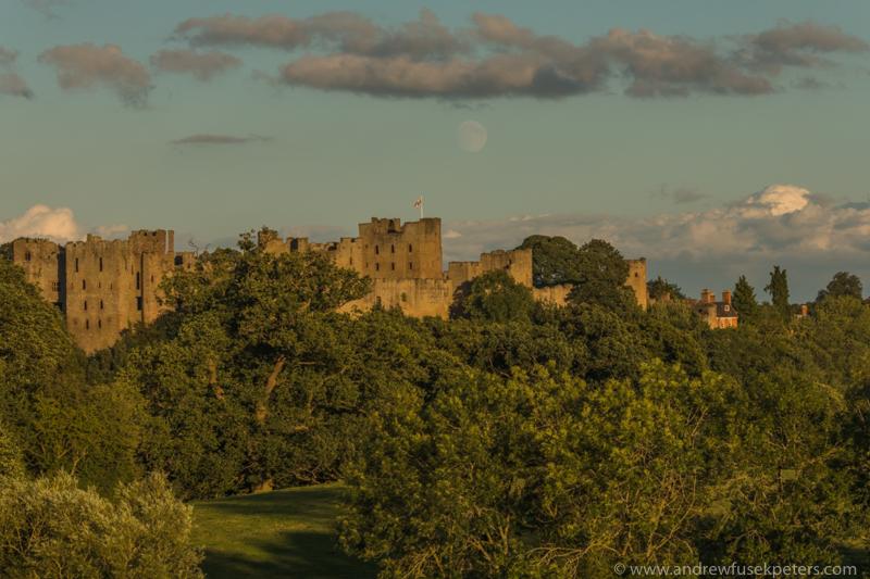 Ludlow Castle moonrise-143 - Let's Go Ludlow
