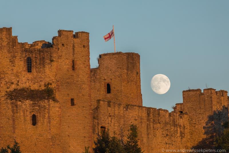 ludlow castle moon rise-218 - Let's Go Ludlow