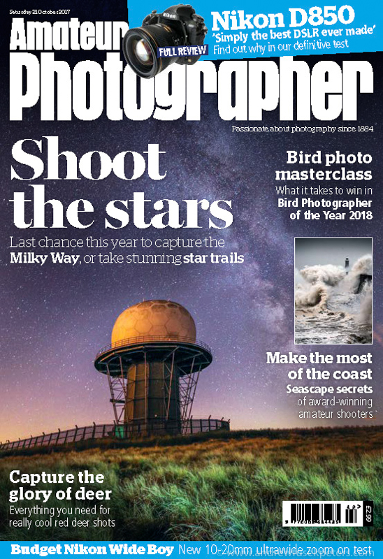 Shoot the Milky Way front cover feature Amateur Photographer-1 - Stars, Star Trails and Milky Way