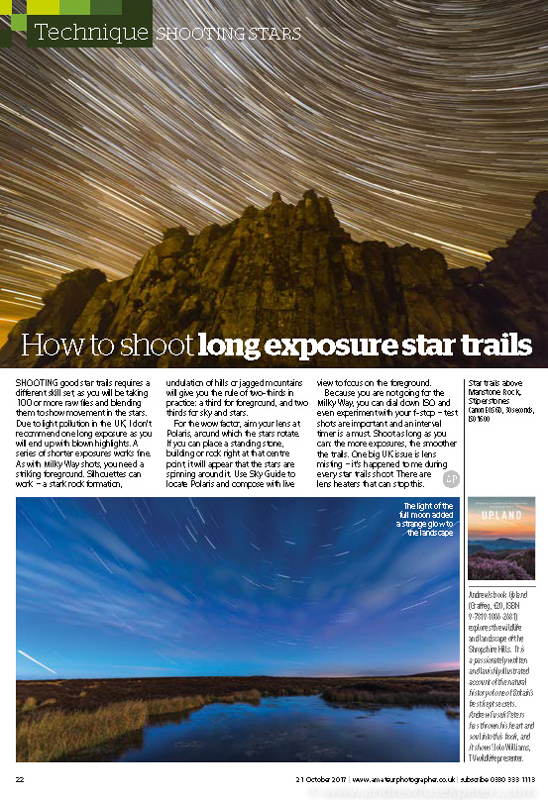 Shoot the Milky Way front cover  feature Amateur Photographer-4 - Stars, Star Trails and Milky Way