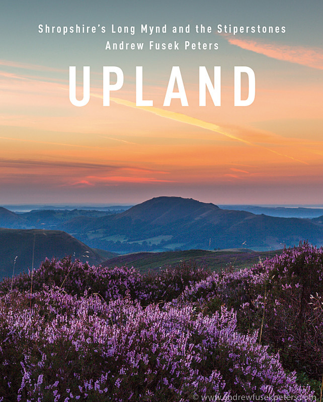Upland book cover - Upland, Shropshire's Long Mynd & Stiperstones