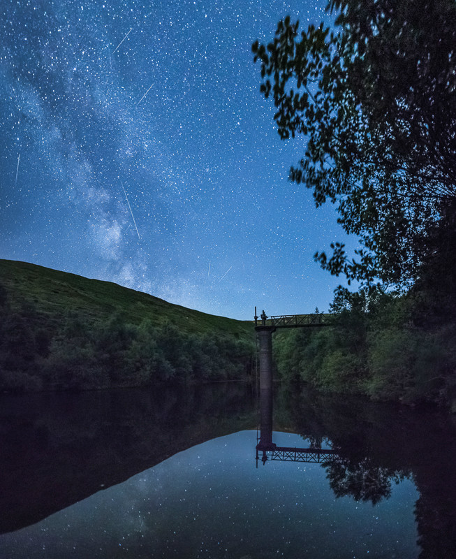 Perseid Shower and Milky Way Carding Mill Valley-1 - Sigma