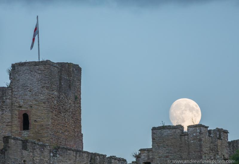 Ludlow Castle moonrise-277 - Let's Go Ludlow
