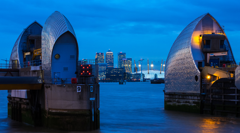 Thames Barrier - City