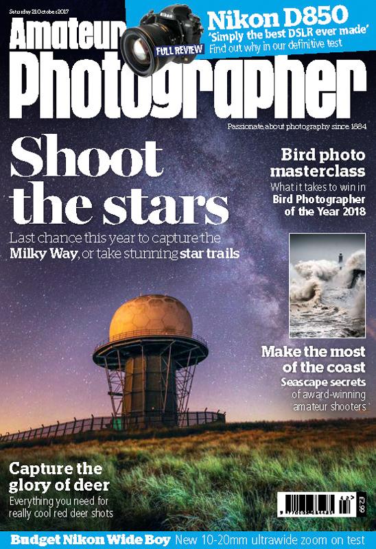 Amateur Photographer cover shot Milky Way October 2017-1 - Media & Awards
