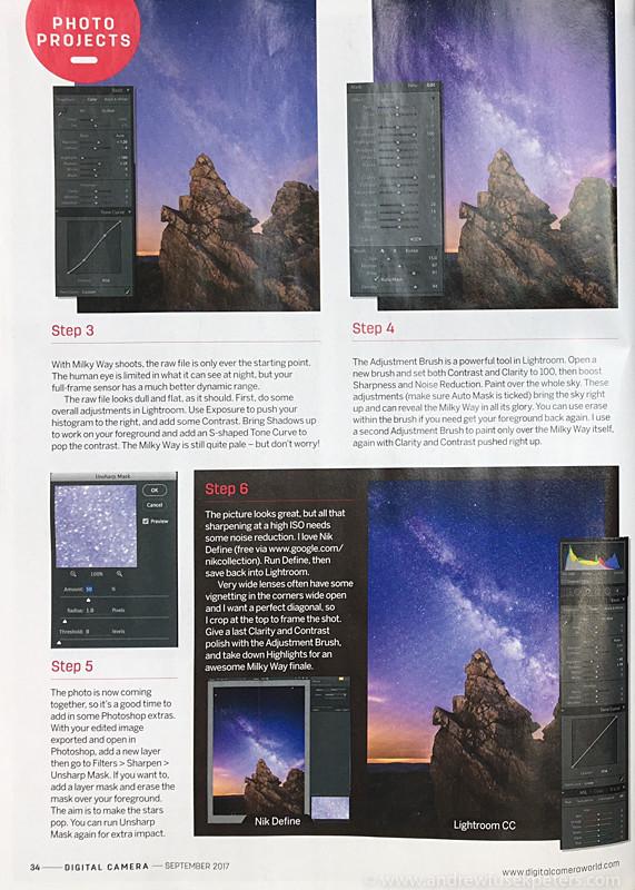 Digital Camera Feature Milky Way 2 - Sigma