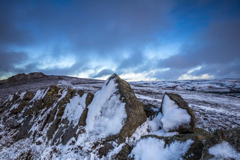 Stiperstone snow - Wilderland, Wildlife & Wonder from the Shropshire Borders