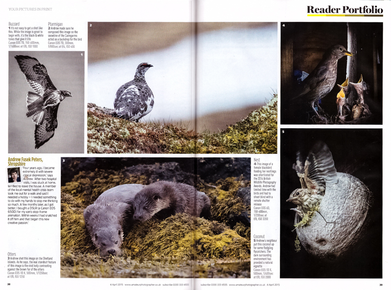 Amateur Photographer Reader Portfolio - Media & Awards