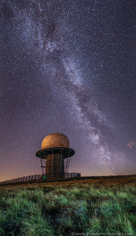 Titterstone Clee Milky Way - Sigma