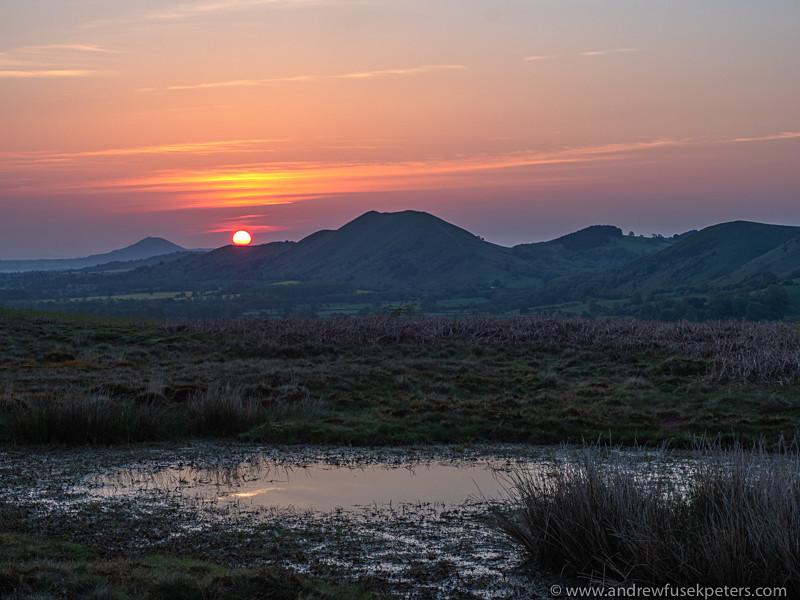 dawn on the Long Mynd 2 - Olympus Landscape