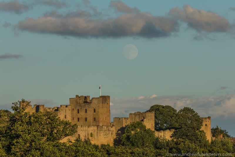 Ludlow Castle moonrise-149 - Let's Go Ludlow