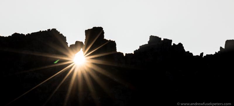Sunrise through Devil's Chair, Stiperstones - Upland, Shropshire's Long Mynd & Stiperstones