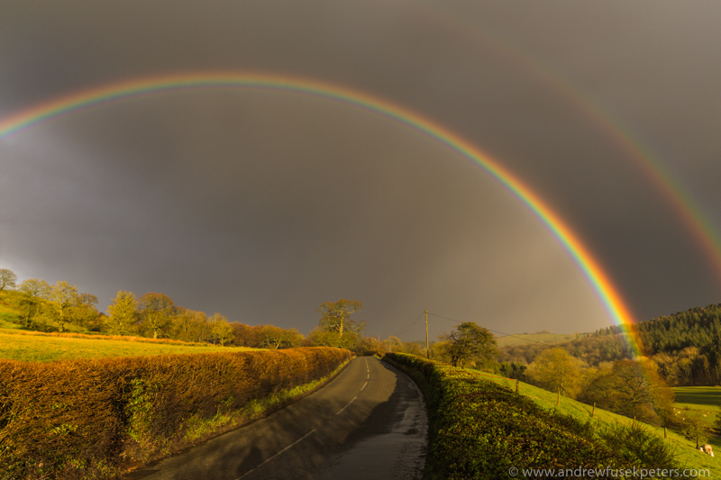 Rainbow, Horderley - Upland, Shropshire's Long Mynd & Stiperstones