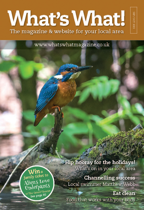 Kingfisher, What's What September Cover - Media & Awards