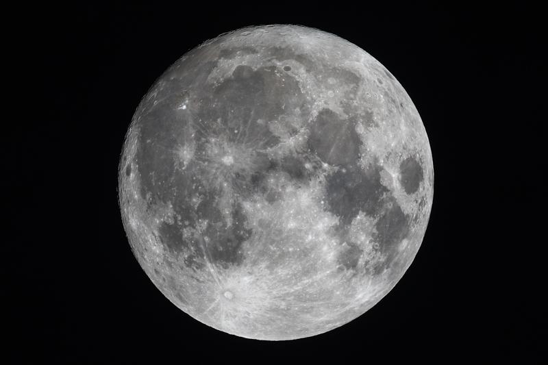 supermoon 2016 - Moon