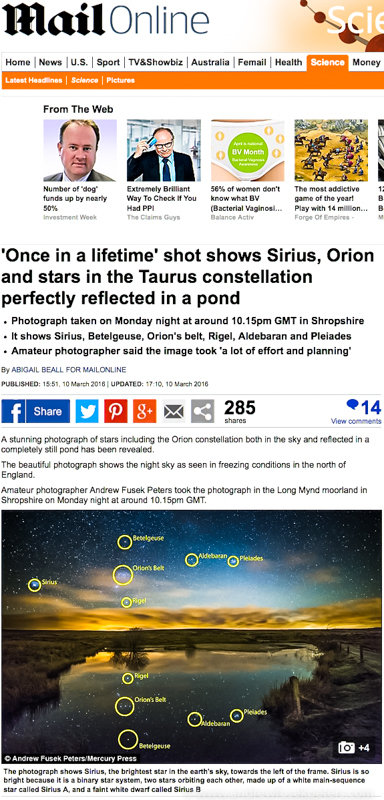 Mail stars online-1 - Stars, Star Trails and Milky Way