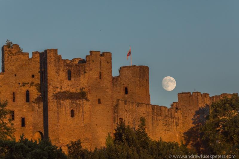 ludlow castle moon rise-215 - Let's Go Ludlow