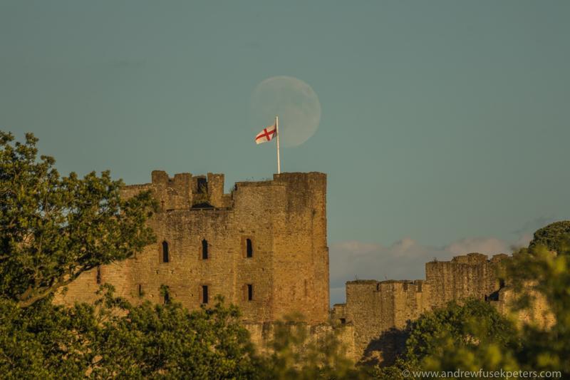 ludlow castle moon rise-56 - Let's Go Ludlow