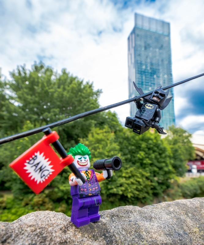 Manchester Batman v Joker - Manchester Mini Lego Adventures