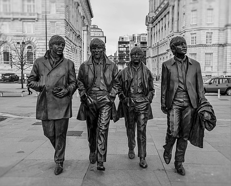 The Beatles 1 - Liverpool the places