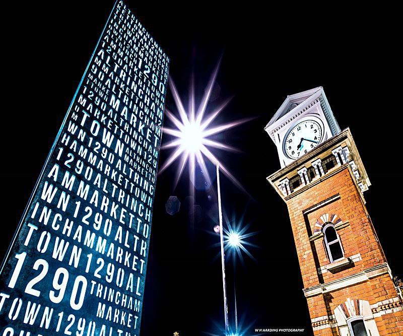 Altrincham Clock & Monolith Nights - ALTRINCHAM, HALE & SALE