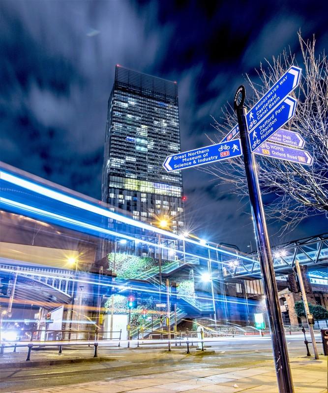 Deansgate Nights 77 - Manchester Castlefield & Deansgate