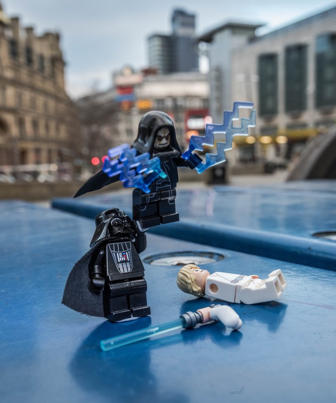 Manchester Luke i'm your Father - Manchester Mini Lego Adventures