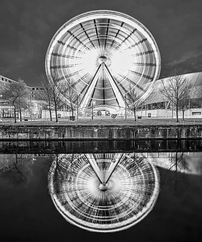Albert Dock Big Wheel 1 - Liverpool the places