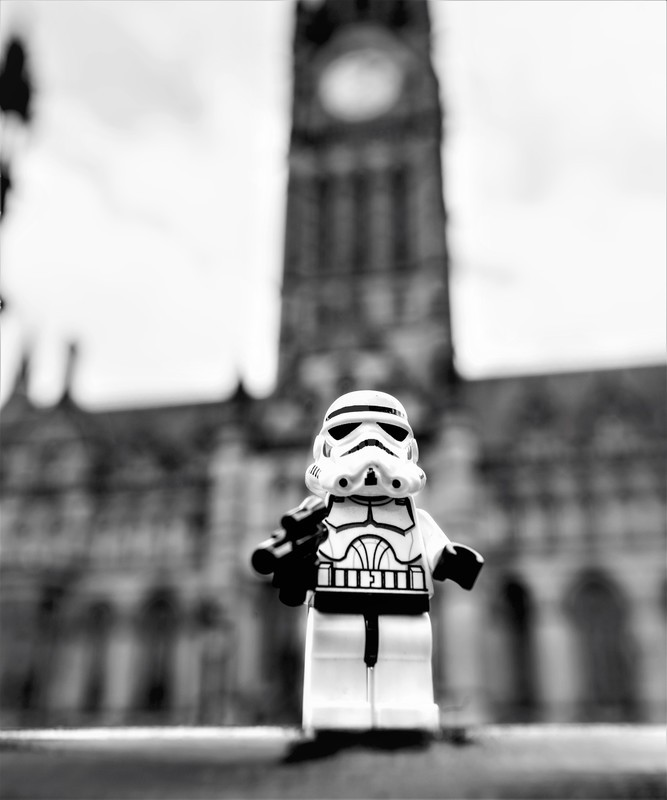 Manchester Storm Trooper 1 - Manchester Mini Lego Adventures