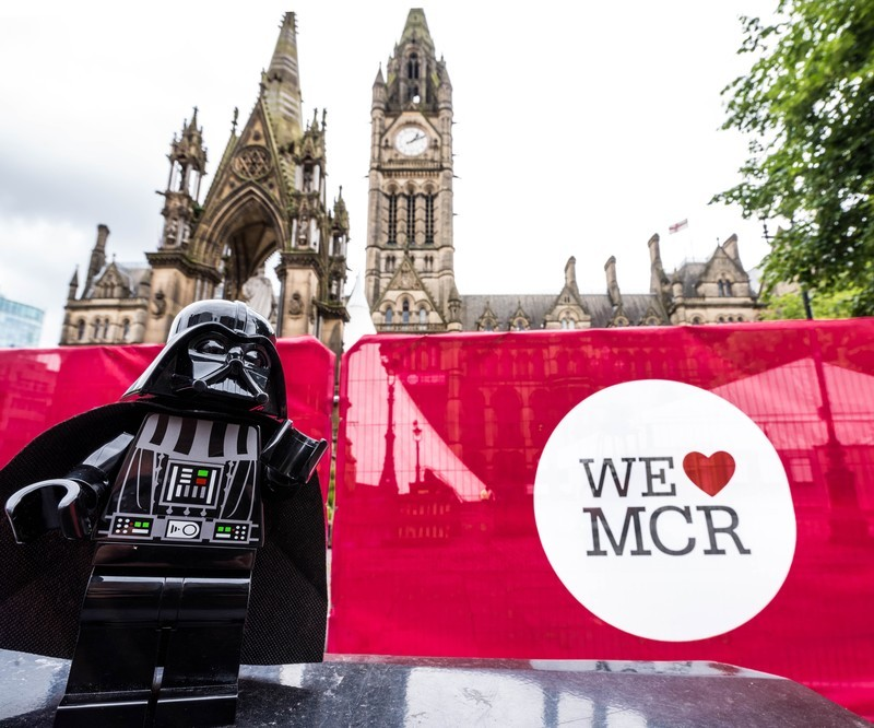 THE FORCE IS STRONG WITH THIS PLACE - MANCHESTER MINI FIGURE ADVENTURES
