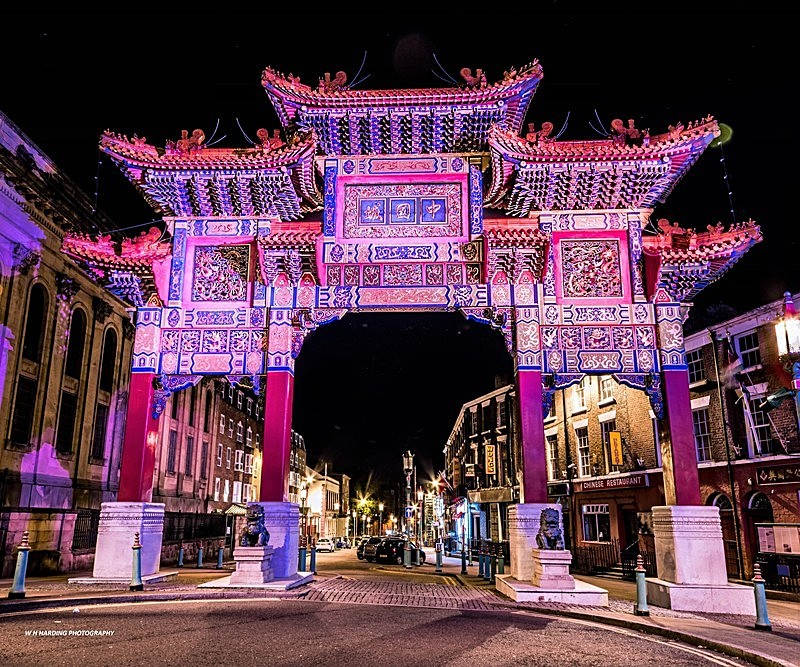 China Town - Liverpool the places