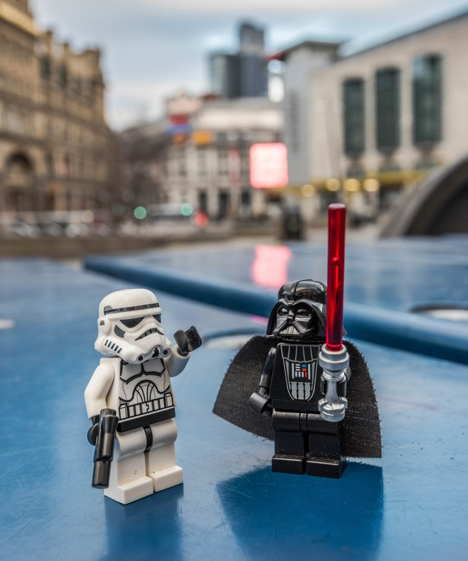 Manchester Darth Vader & Storm Trooper - Manchester Mini Lego Adventures