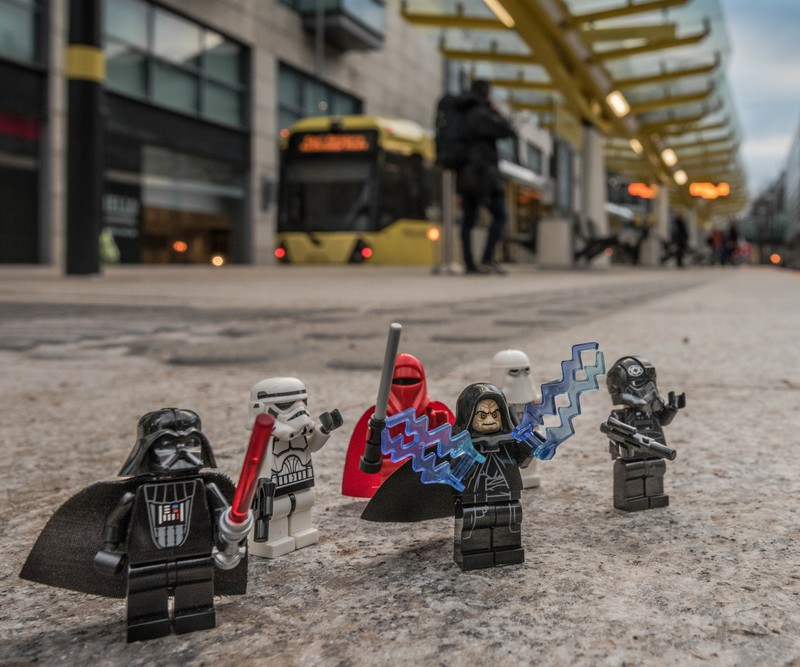 Manchester Death Star Break Down - Manchester Mini Lego Adventures