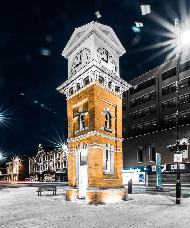 Altrincham Clock - Altrincham & Hale